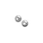Round Bead 3mm Silver Plated (10-Pcs)