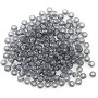 Preciosa Czech Seed Beads 6/0 Black Diamond (10 Grams)