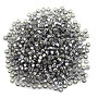 Preciosa Czech Seed Beads 8/0 Silver Lined Black Diamond (10 Grams)
