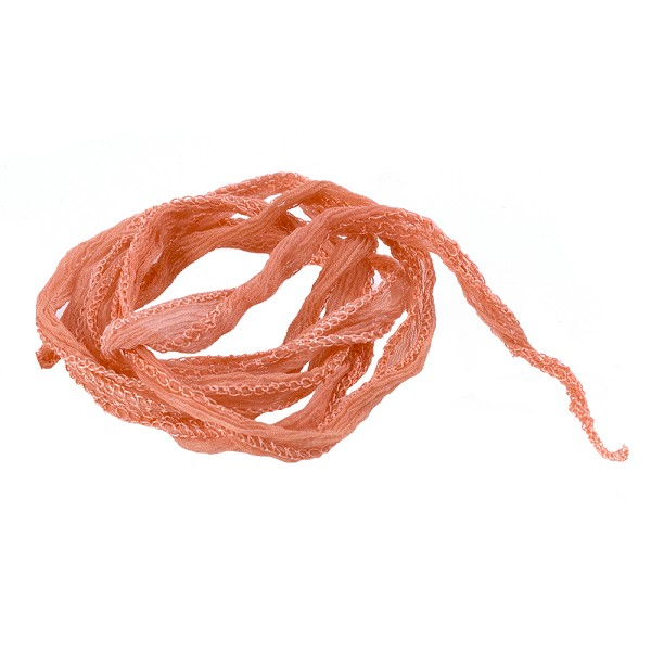 Coral Silk Fairy Ribbon (35 Inches)