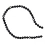 Black Spinel Faceted Beads 2mm (13 Inch Strand)