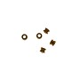 Spool Bead 3x3mm Copper (10-Pcs)