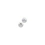 Round Bead Lightweight 4mm Sterling Silver (2-Pcs)