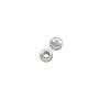 Round Bead 5mm Sterling Silver (2-Pcs)