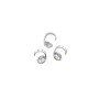 Bead Tip 3mm Cup Sterling Silver (2-Pcs)