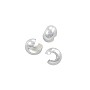 Crimp Bead Cover 4mm Sterling Silver (1-Pc)