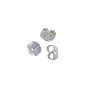 Ear Backs Medium Sterling Silver (1-Pc)
