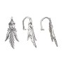 Ice Pick Bail 20x9mm Sterling Silver (1-Pc)