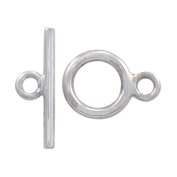 Toggle Clasp - 9mm Sterling Silver (Set)
