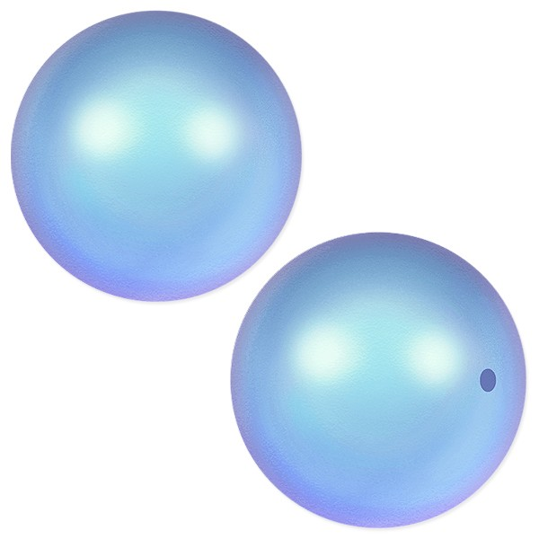 Swarovski 5810 10mm Iridescent Light Blue Round Crystal Pearl (1-Pc)