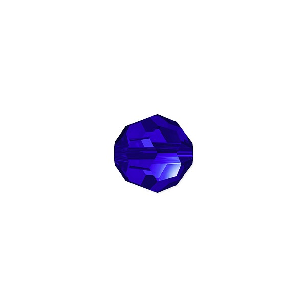 Swarovski Crystal 5000 6mm Majestic Blue Round Bead (1-Pc)