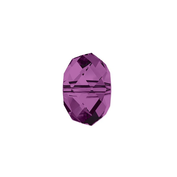 Swarovski Crystal 5040 8mm Amethyst Briolette Bead (1-Pc)