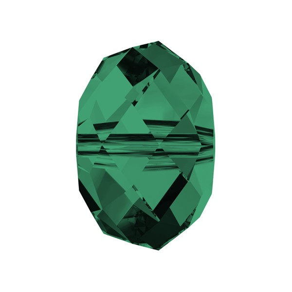 Swarovski 5040 8mm Emerald Briolette Bead (1-Pc)