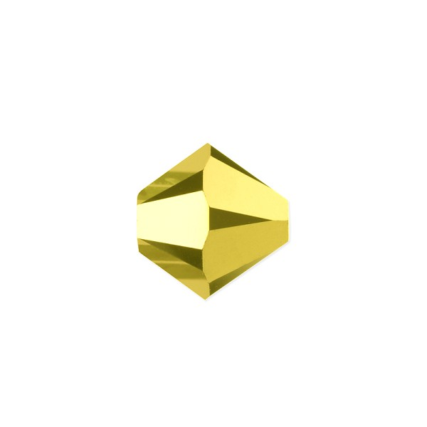 Swarovski 5328 4mm Aurum 2X Bicone Bead (10-Pcs)