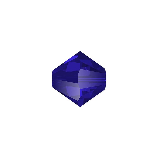 Swarovski 5328 4mm Majestic Blue Bicone Bead (10-Pcs)