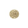 Swarovski Crystal Pave Ball Bead 8mm Crystal Golden Shadow (1-Pc)