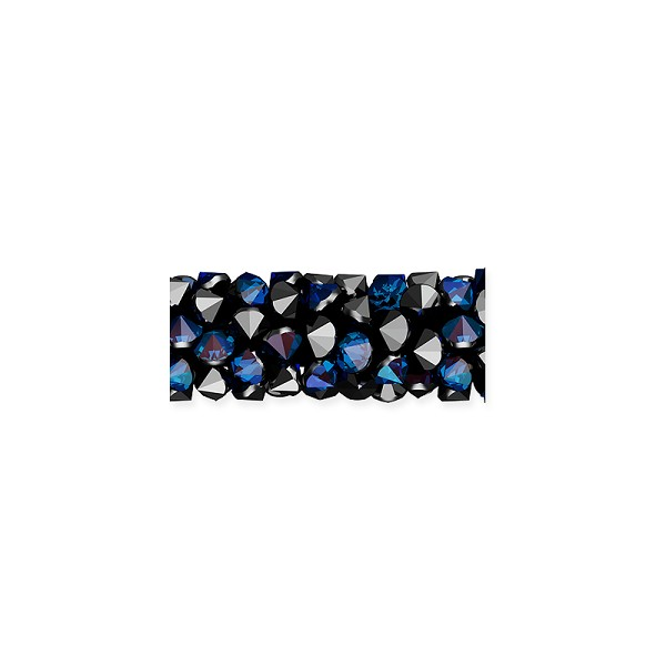Swarovski Fine Rocks Tube Bead 5951 15x6mm Crystal Bermuda Blue (1-Pc)