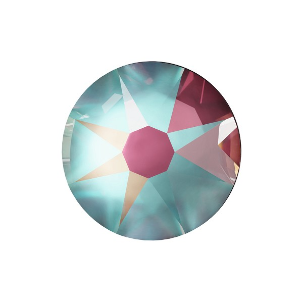 Swarovski 2088 4.7mm (SS20) Crystal Burgundy DeLite Flat Back (10-Pcs)