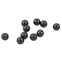 Swarovski 5810 8mm Black Round Crystal Pearl (100-Pcs)