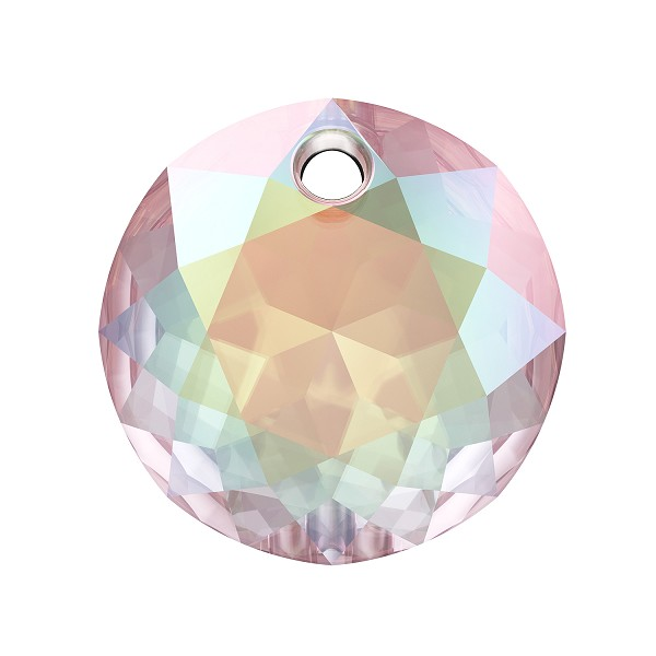 Swarovski Classic Cut 6430 Pendant 14mm Crystal AB (1-Pc)