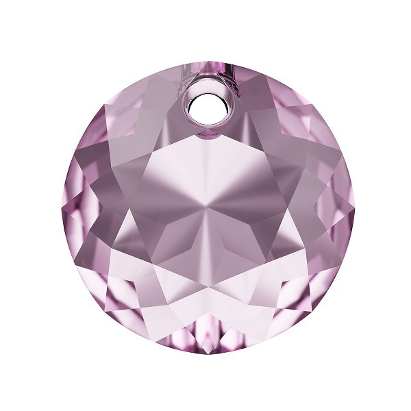 Swarovski Classic Cut 6430 Pendant 14mm Light Amethyst (1-Pc)