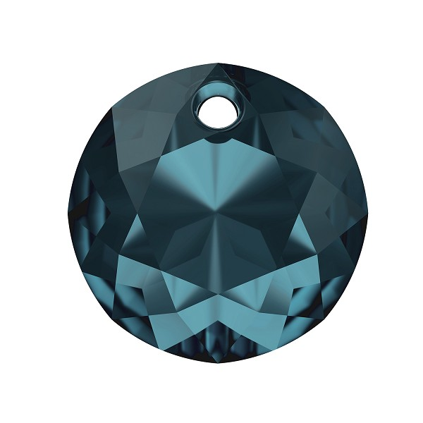 Swarovski Classic Cut 6430 Pendant 10mm Montana Blue (1-Pc)