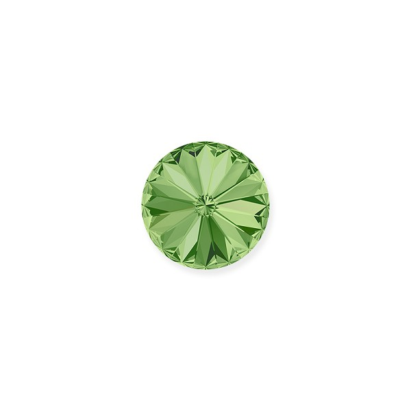 Swarovski 1122 12mm Peridot Rivoli Chaton (1-Pc)