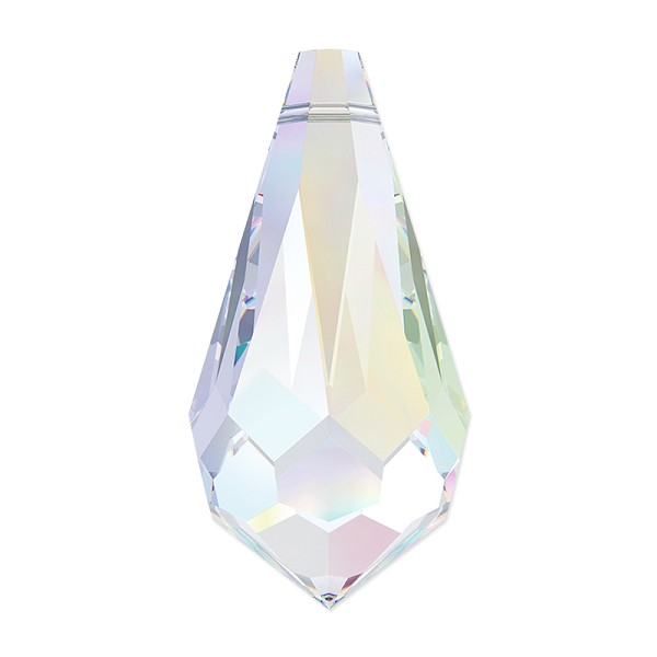 Swarovski Crystal Drop Pendant 6000 11x5.5mm Crystal AB (1-Pc)