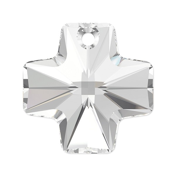 Swarovski Crystal Cross Pendant 6866 20mm Crystal (1-Pc)
