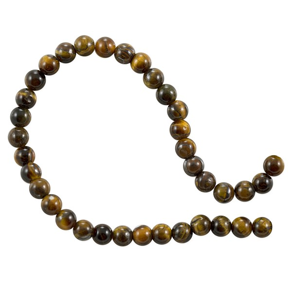 "Tiger Eye Beads 6mm (15"" Strand)"