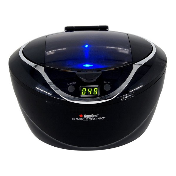GemOro Sparkle Spa Pro Ultrasonic Jewelry Cleaner 1-1/2 Pint