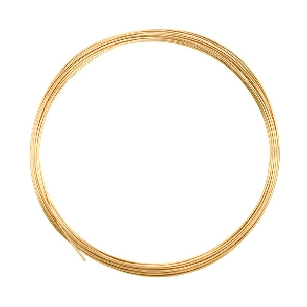 Gold Filled Square Wire Half Hard 20ga (Priced per Foot)