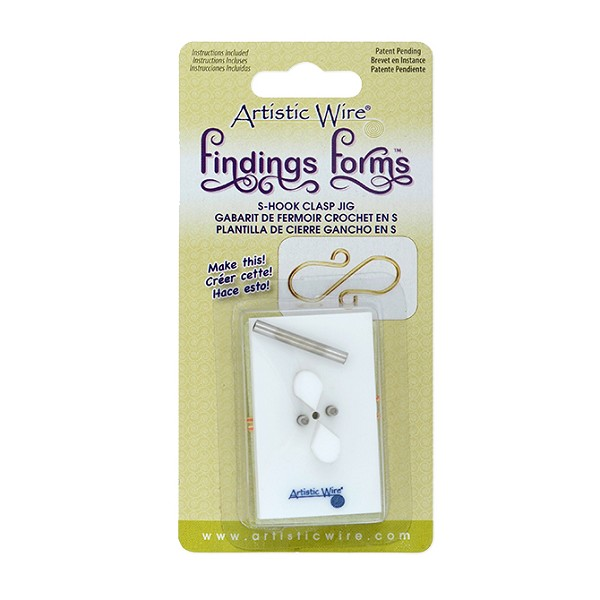 Findings Forms - S Hook Clasp Jig